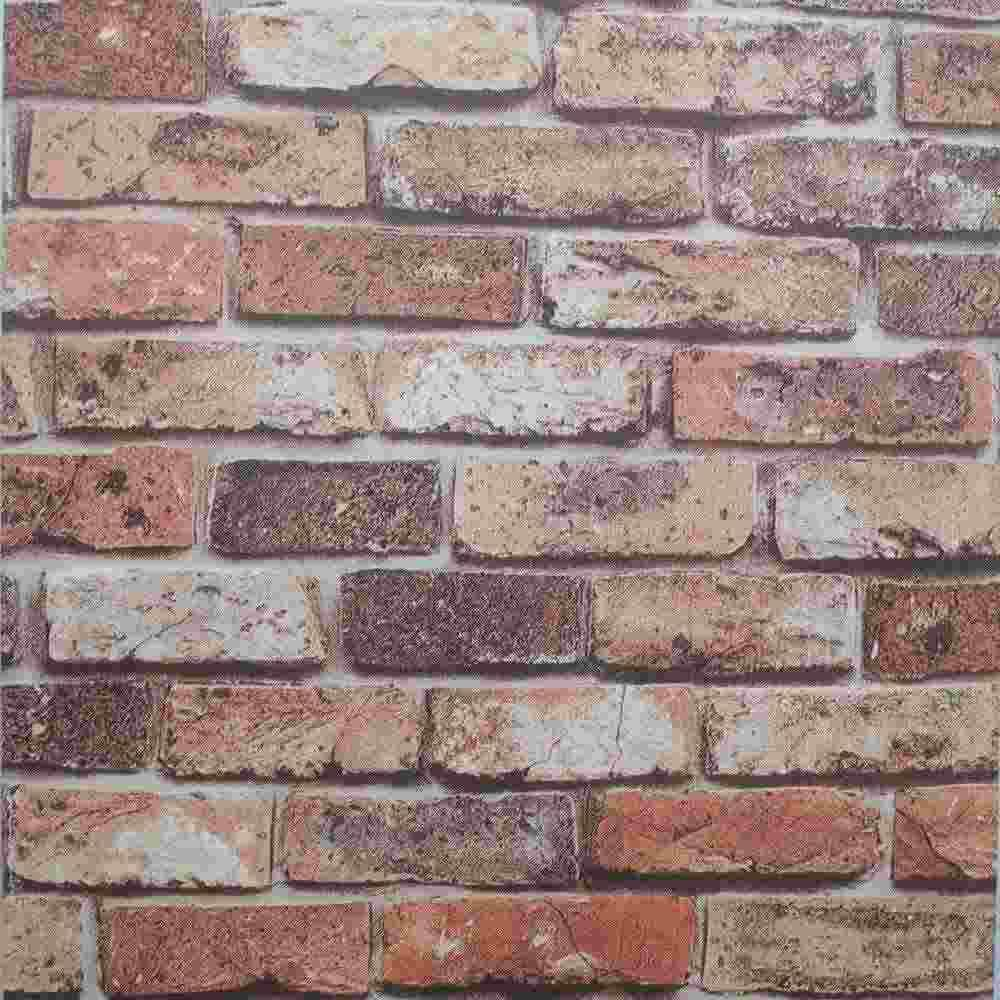 Vinyl for brick wall - Chinese Retro 3d Wallpaper Vintage Natural Brick Wall Wallpaper Texture Vinyl Brick Wallpaper For Kitchen Bathroom Room Decor