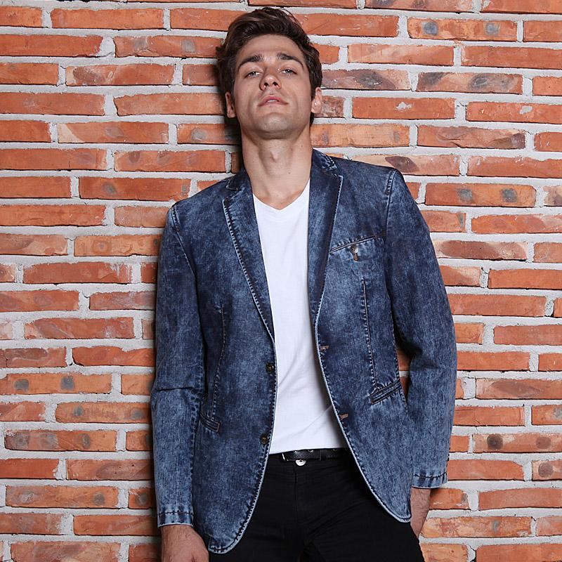 HOT 2016 New Fashion Brand Men's Jeans Suit Men Designing Washing ...