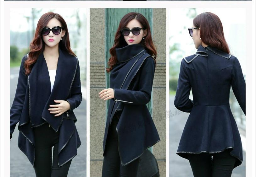Online Cheap Winter Coats Women Long Cashmere Overcoats Trench ...
