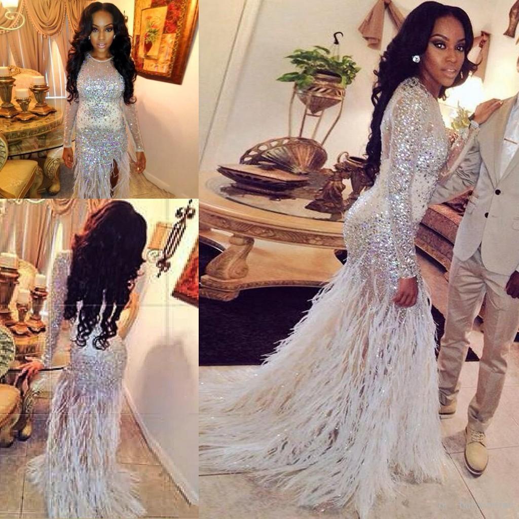 Fur Prom Dress_Prom Dresses_dressesss
