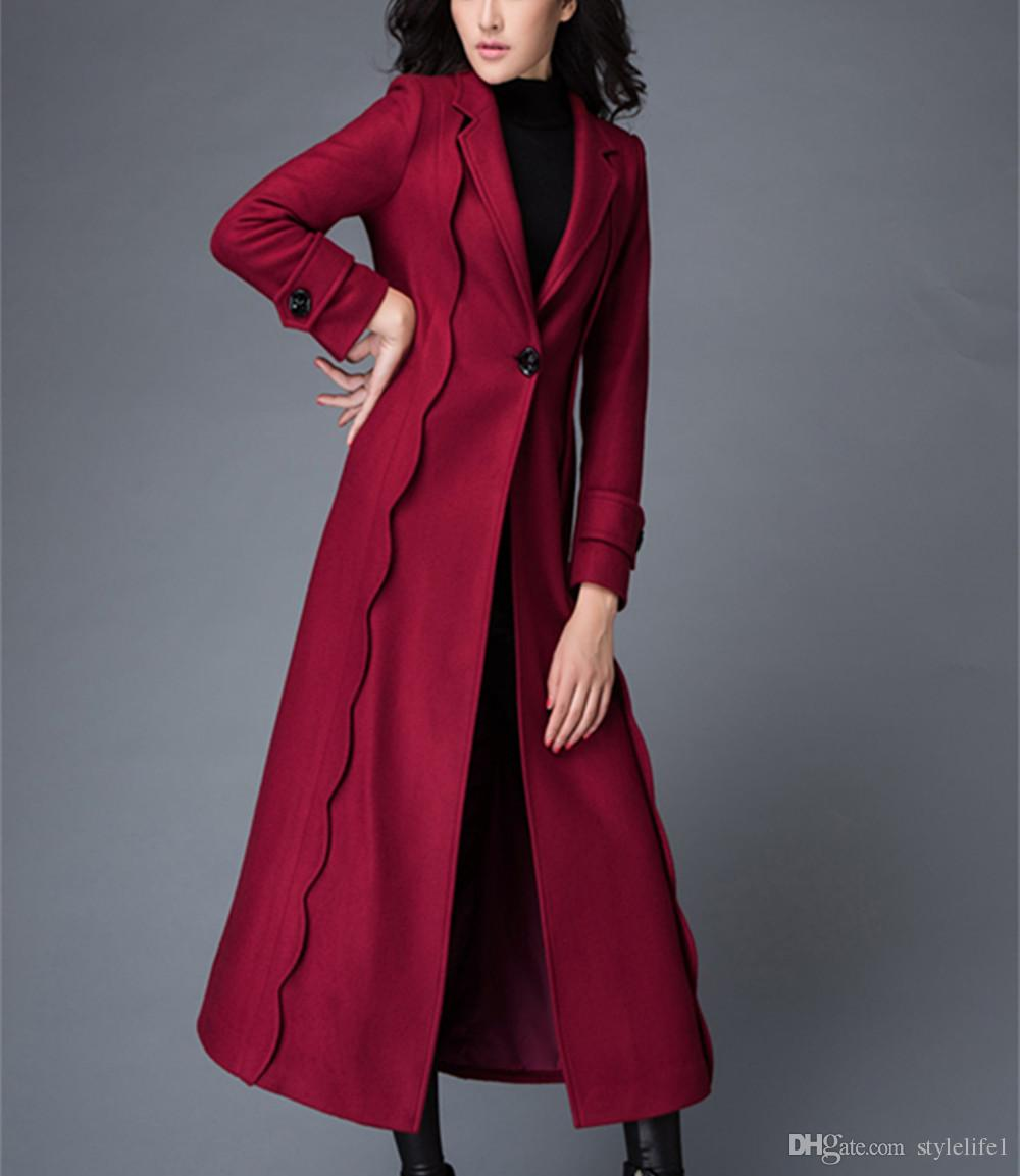 Fall/Winter Clothes for Women 2017 New European And American Wool ...