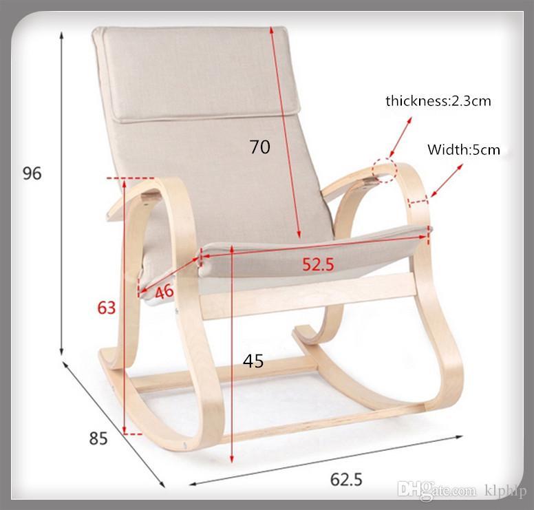Кресло качалка из фанеры размеры чертежи фото