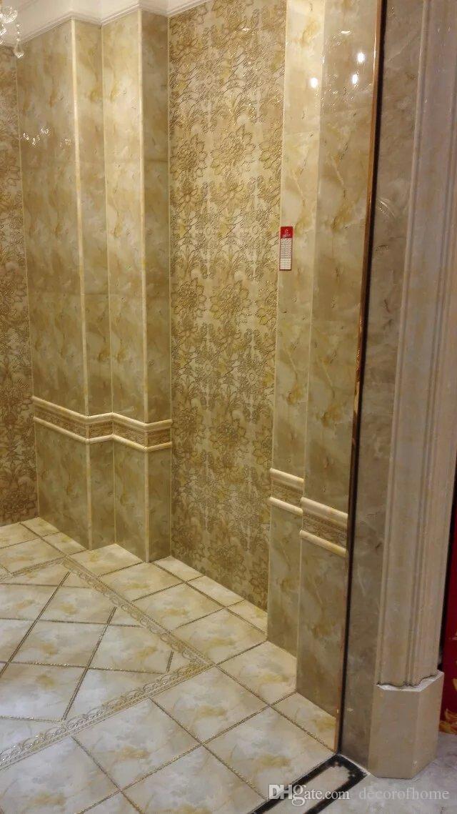 toilette lusso pavimento muro del bagno placcato oro piastrelle di buona qualit basso prezzo di vendita calda voce allingrosso da decorofhome