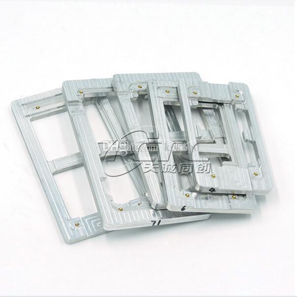Metal Alignment : Metal aluminum loca uv glue alignment lcd outer glass