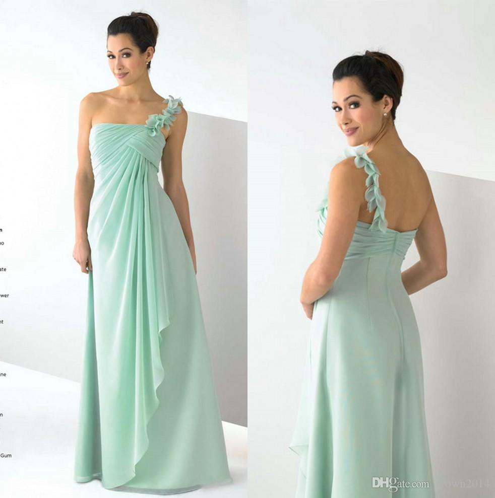 2017 sage one shoulder chiffon bridesmaid dresses under 50 open 2017 sage one shoulder chiffon bridesmaid dresses under 50 open back pleated plus size wedding party dresses custom made maid of honor dress cheap ombrellifo Choice Image