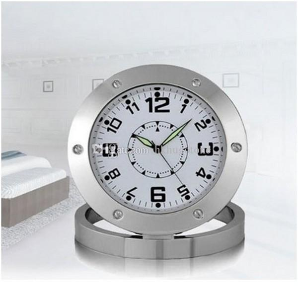 spy nanny clock cam 640*480 vga hidden bathroom camera motion
