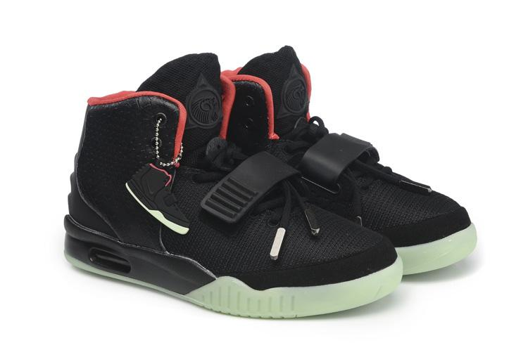 ... Air Yeezy 2 Sneaker mens BASKETBALL SHOE White Grey Red ...