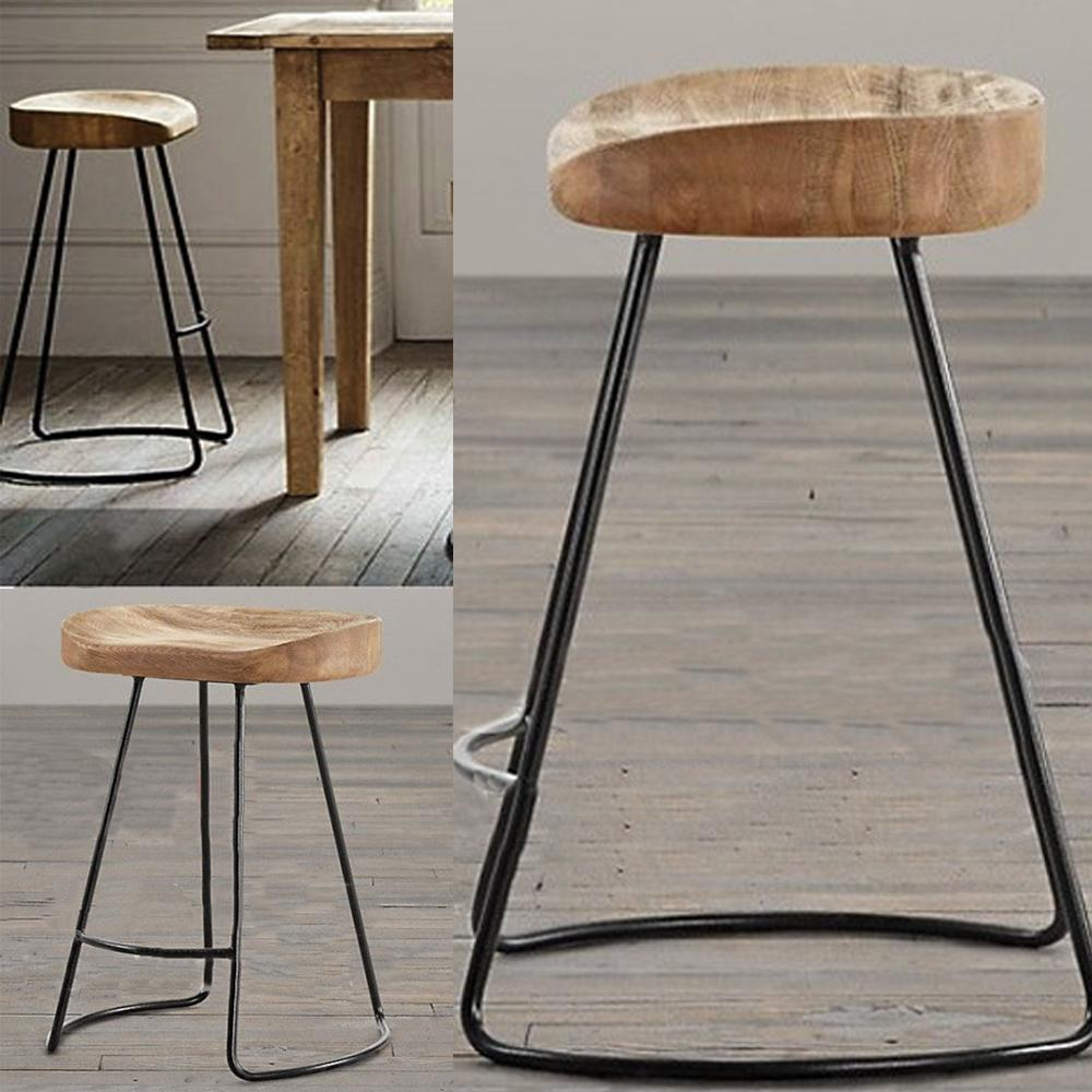 Cheap Wood Wood Bar Chair Best No Stools Ottomans Bear Handmade Wood
