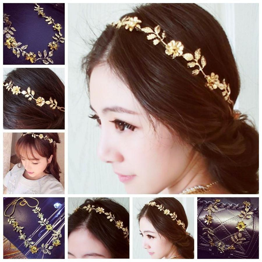 Hair band hot baroque gold leaves flowers festival hippy forehead hair band hot baroque gold leaves flowers festival hippy forehead hair accessory jewellery hair band online with 309piece on cgx6552617s store dhgate dhlflorist Choice Image