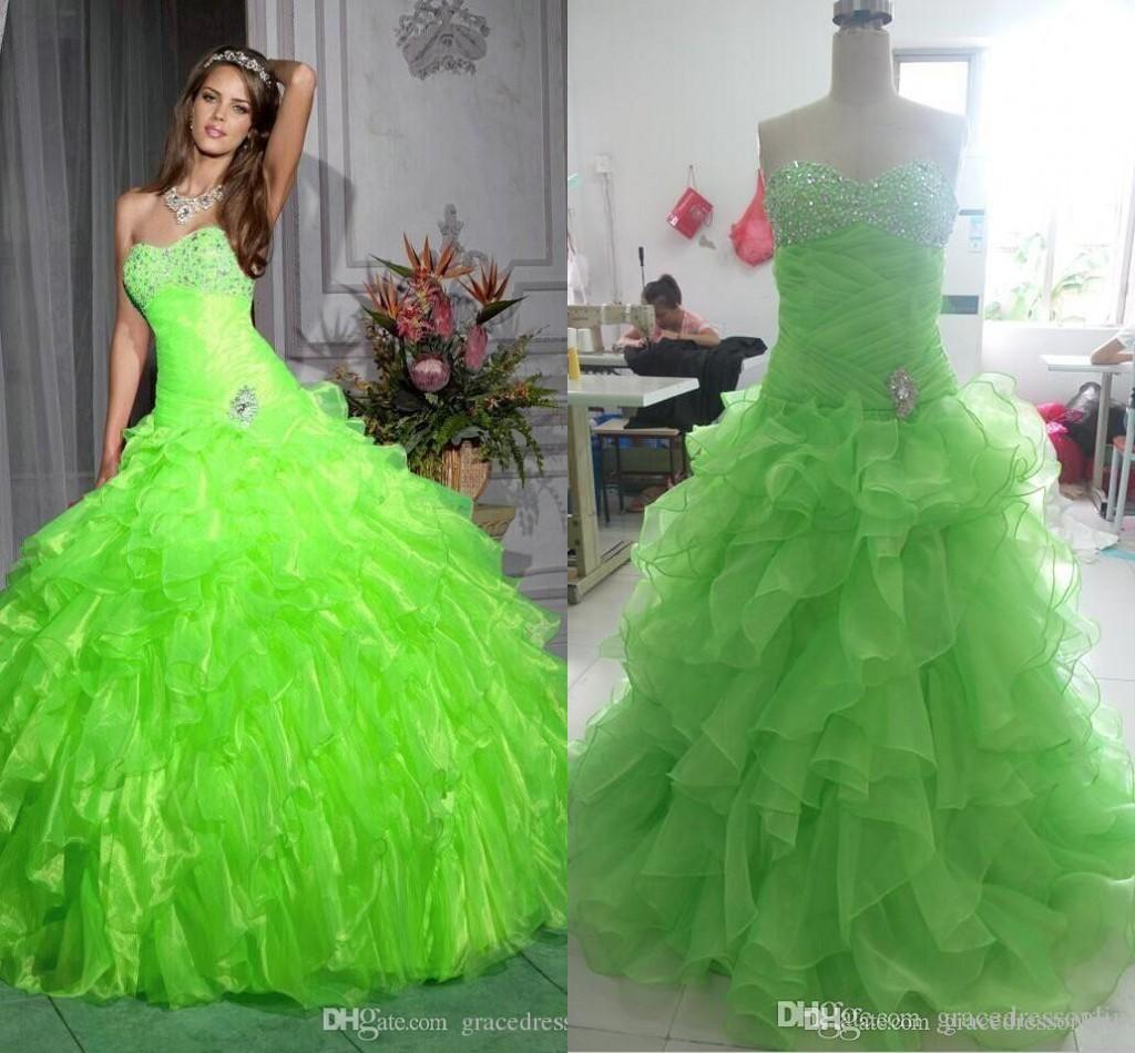 Cheap Green Prom Dresses