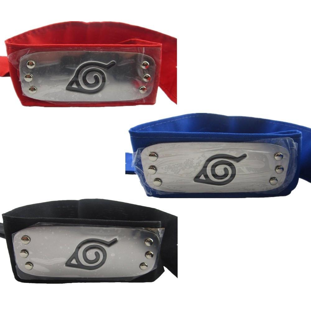 Discount Naruto Cosplay Accessories Konoha Ninja Headband