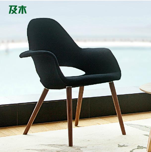 nordic furniture design. modern simple fashion furniturenordic design woollen cloth solid wood leisure chairstudy nordic furniture i