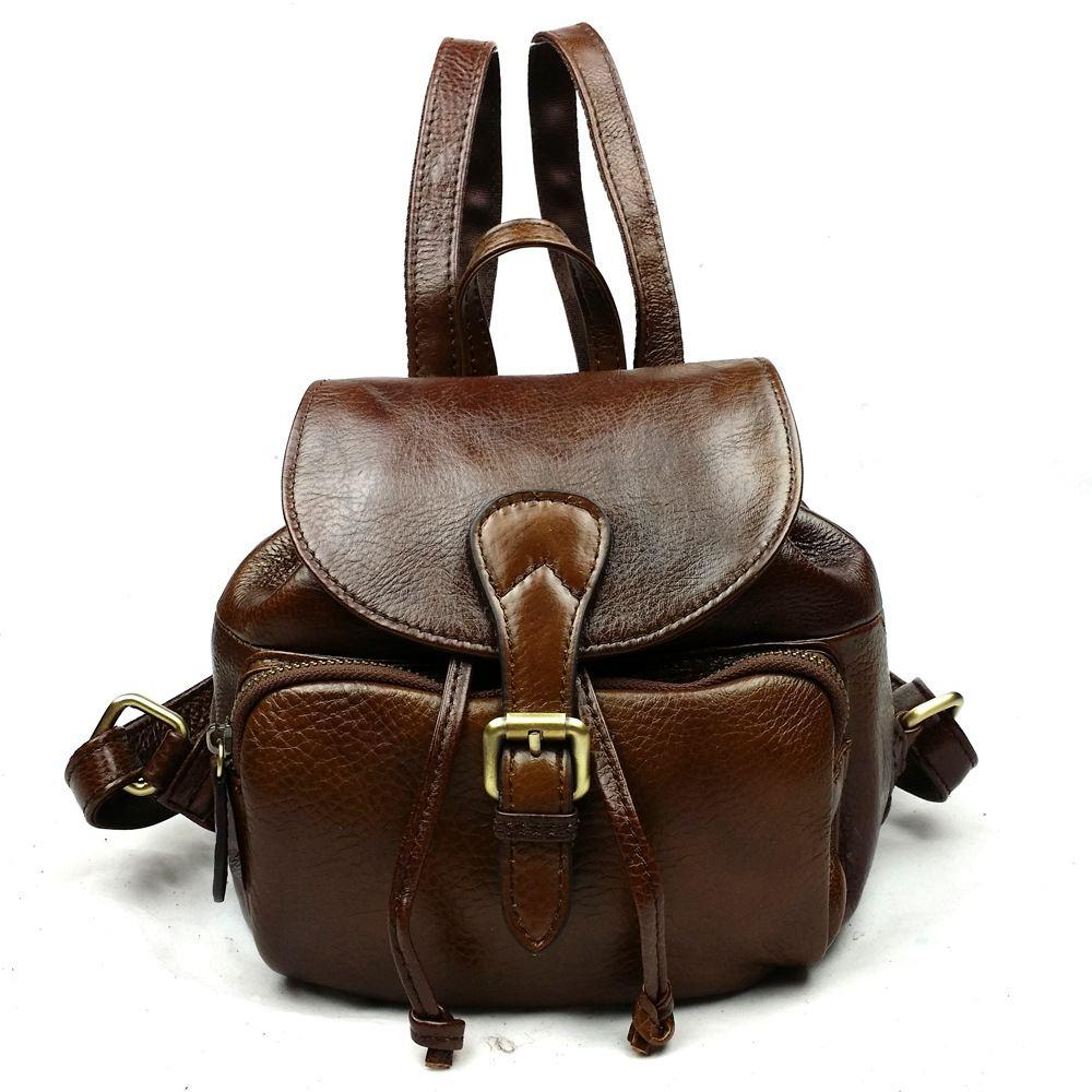 2015 Summer Backpacks Women Genuine Leather Backpack Fashion ...