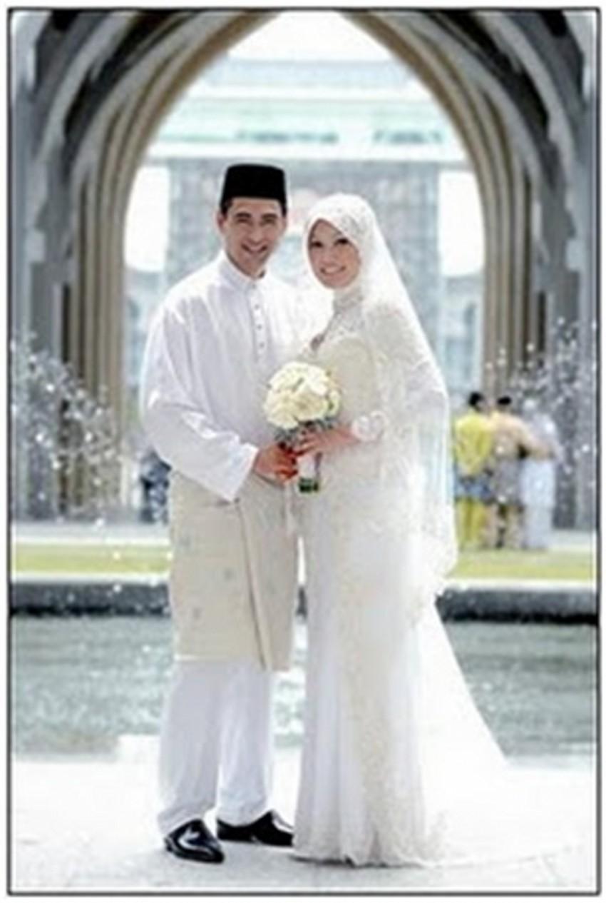 Discount 2015 Saudi Arabia Wedding Dresses Hijab Muslim ...