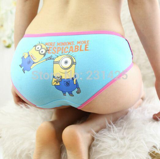 2017 Despicable Me 2 Minion Clothes Women Cartoon Underwear Cute ...
