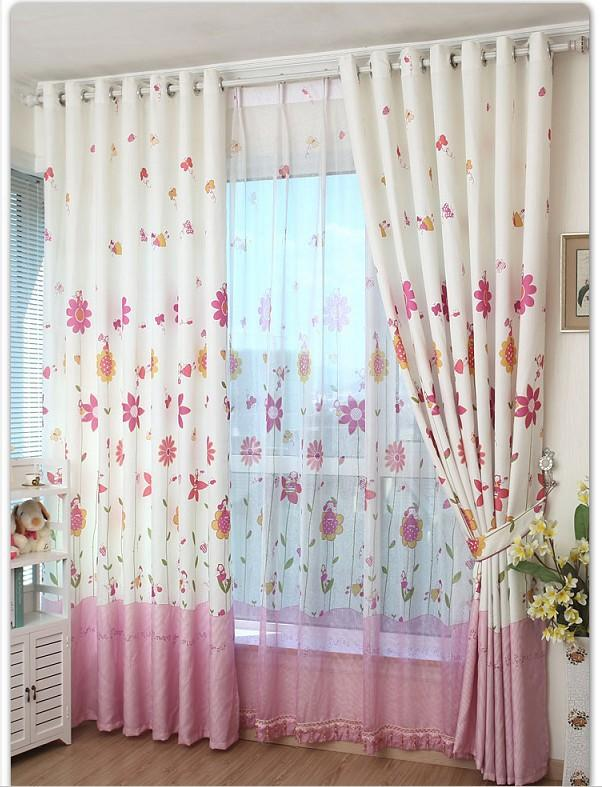 Eco Friendly Curtains For Kids Cartoon Curtains + Tulle/ Sheer ...