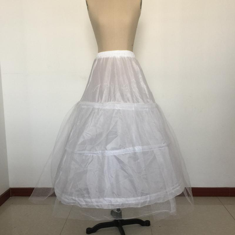 White tulle bridal dress crinoline ball gown bridal dress for Tulle petticoat for wedding dress