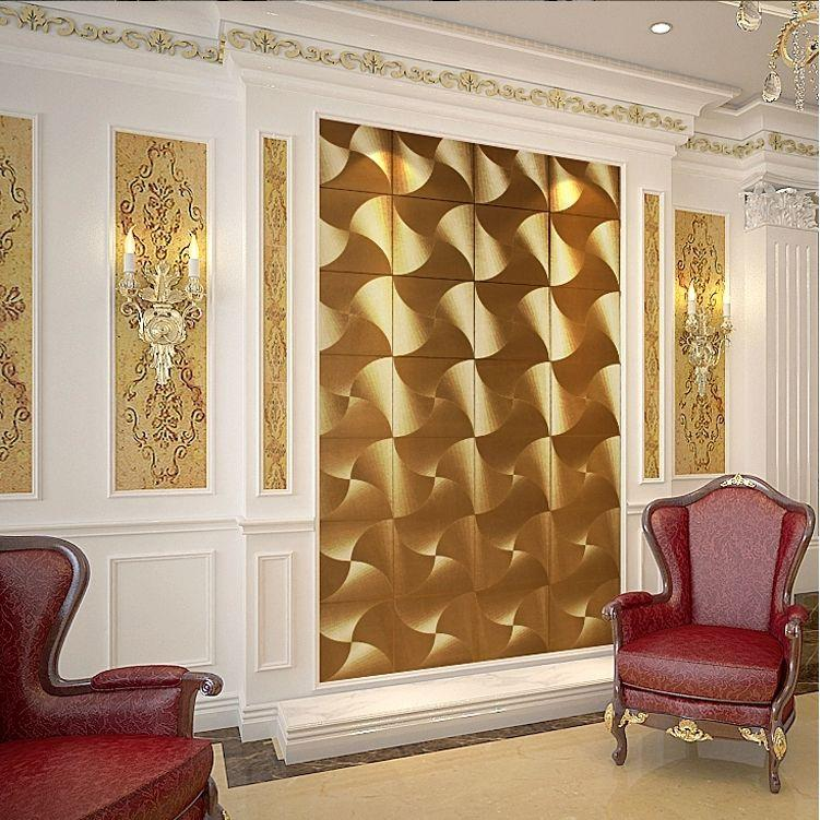 Brown And Gold Living Room Wallpaper Home Design