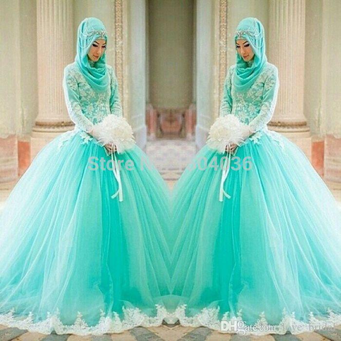 Muslim Wedding Dresses 2014 – fashion dresses