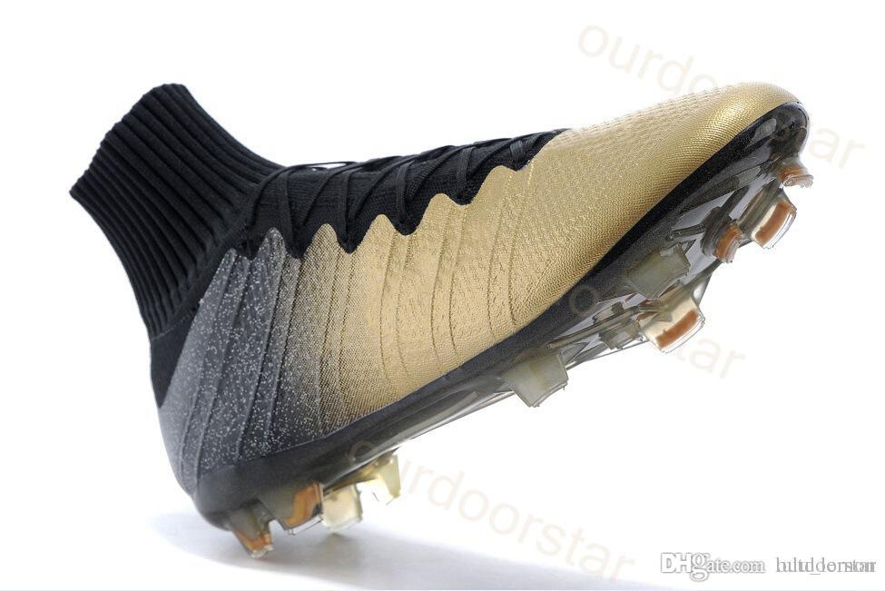 Acc Soccer Cleats Gold Cr7