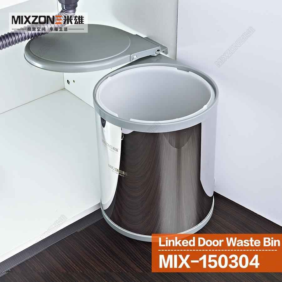 Kitchen Waste Bin Door Mounted Clutter Free Recycling Bin Recycling Bottle And Recycling Bins