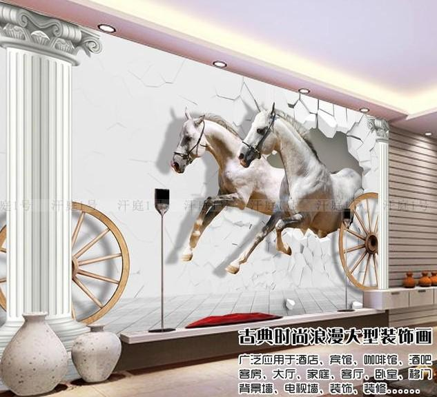 can be customized large scale mural 3d wallpaper bedroom