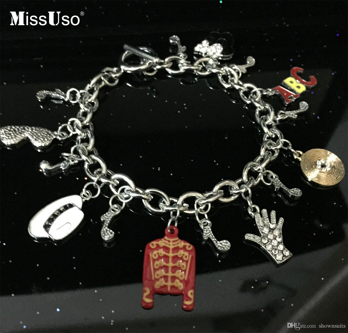 Missuso mj styles michael jackson bracelet memorial for Michael m collection
