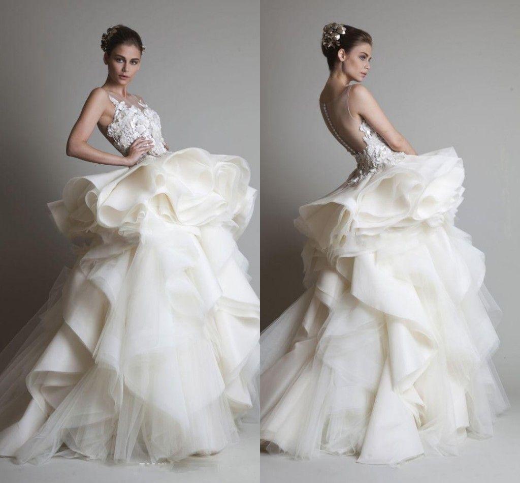 Modest 2015 dubai arabic wedding dresses fall winter for Cheap wedding dresses in dubai