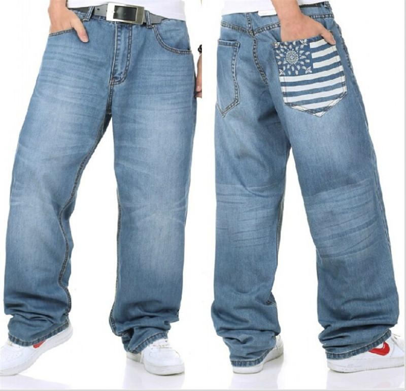 Online Cheap New Mens Baggy Hip Hop Jeans Famous Brand Designer ...