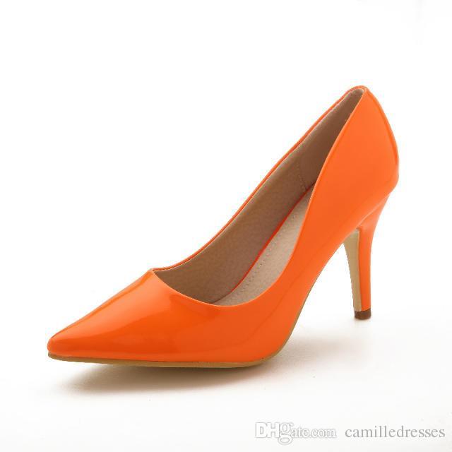 Orange Purple Wedding Shoes Orange Wedding Shoes