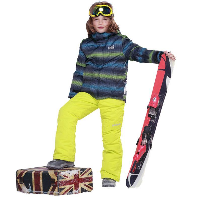 2017 Phibee Kids Ski Suit Boys Ski Jacket Ski Pant And ...