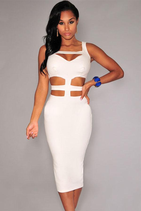 White Party Dress Photo Album - Reikian