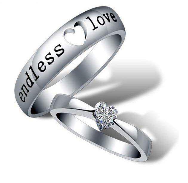 Original Couple Rings Eternal Love Valentine