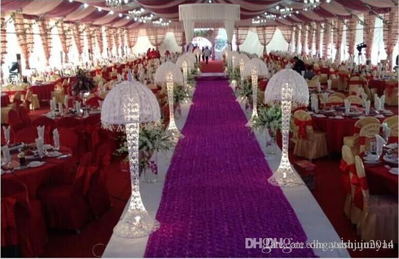Hot Selling Romantic Wedding Carpet Favors 3d Rose