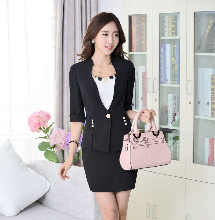 2017 Spring Summer Designer Ladies Office Suits New 2015 ...