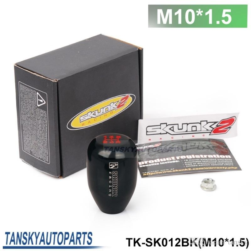 Tansky - Sk2 (M10*1.5) Racing 5 SPeed Car Shift Knobs (black blue red golden ) HQ TK-SK012 (M10*1.5)