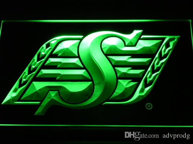 Inscrivez-B418 Roughriders de la Saskatchewan Bar Beer LED Neon Light Wholeselle