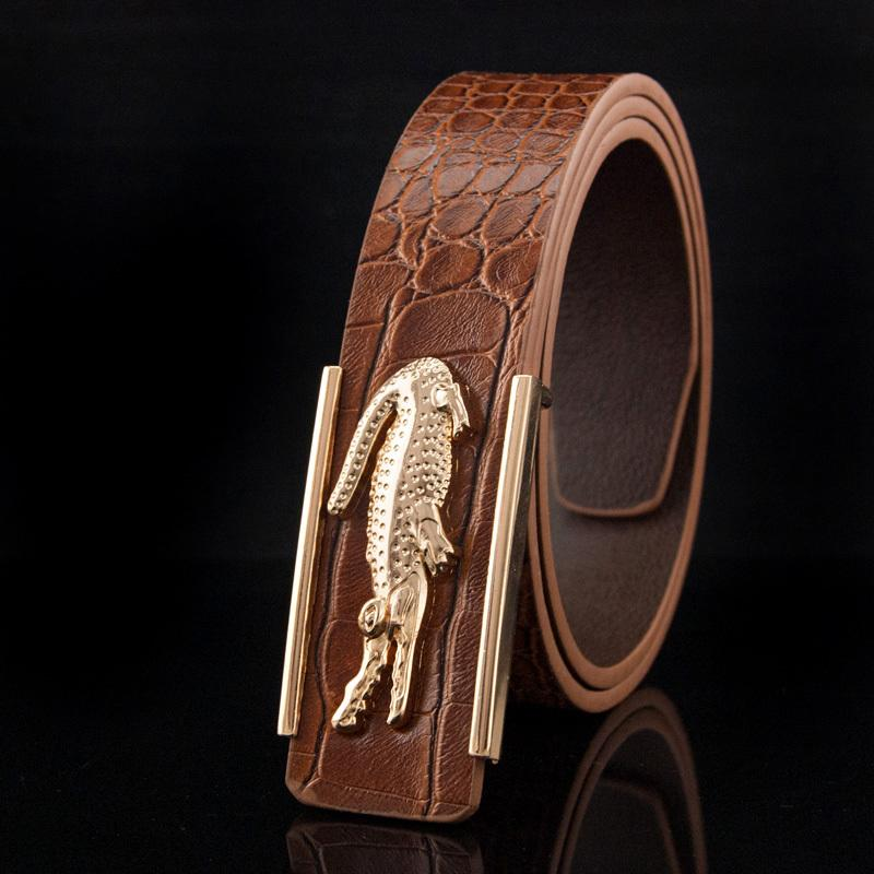 all designer belts 5vcz  hermet belt fashion designer belts men high quality luxury brand PU leather  gold Alligator buckle waist