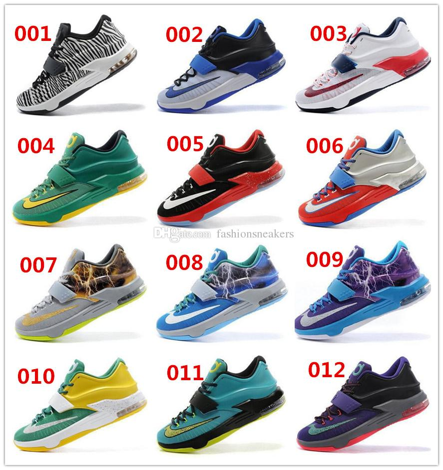 2017 New Cheap Kevin Durant Kd 7 Mens Basketball Shoes Athletic ...