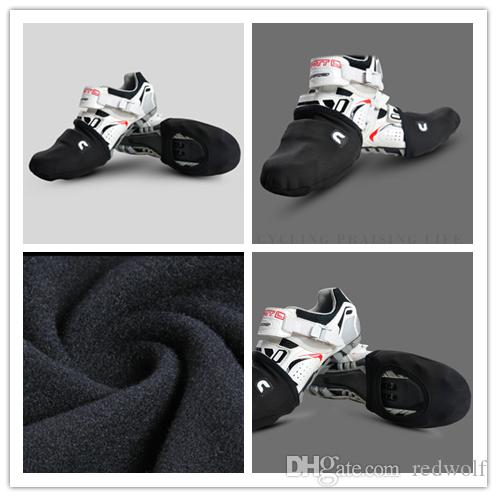 veloToze TALL ROAD SHOE COVERS Aero Waterproof Cycling Booties BLACK T-BLK-001-P