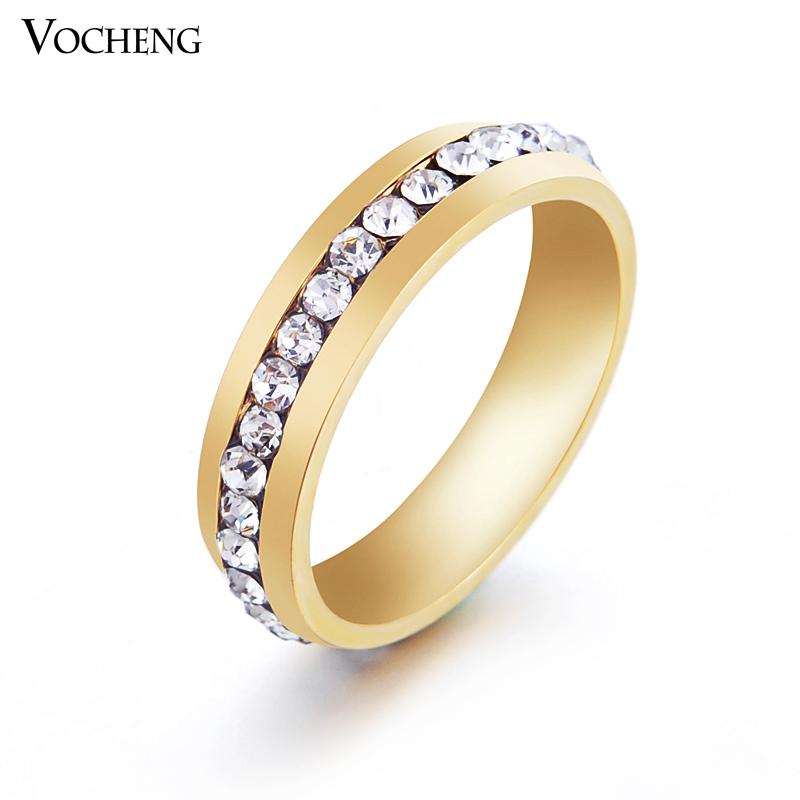 2017 non fading stainless steel ring silver gold plated for Does gold plated jewelry fade