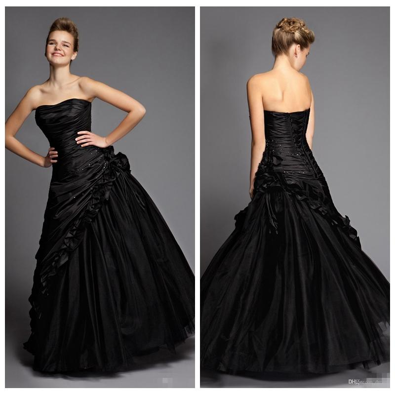 sexy victorian gothic prom formal dresses 2016 black