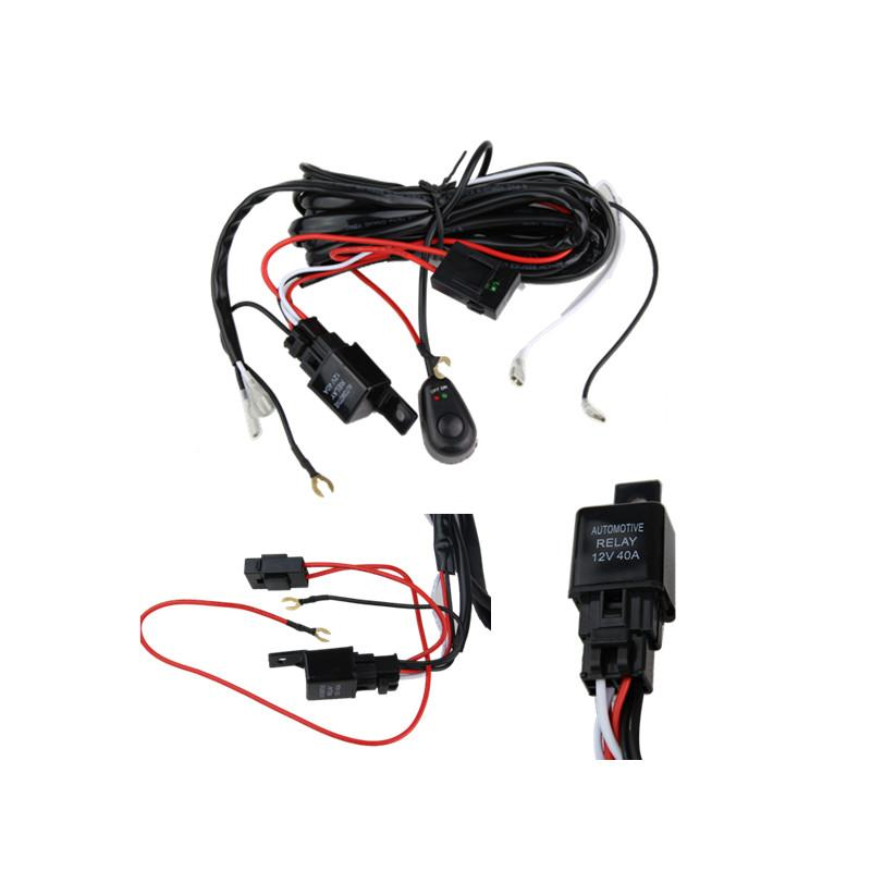 2017 new wiring harness kit for led hid light bar wire