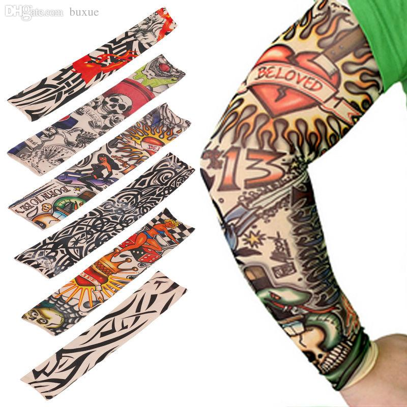 Wholesale new mixed 100 nylon elastic fake temporary for Wholesale temporary tattoos