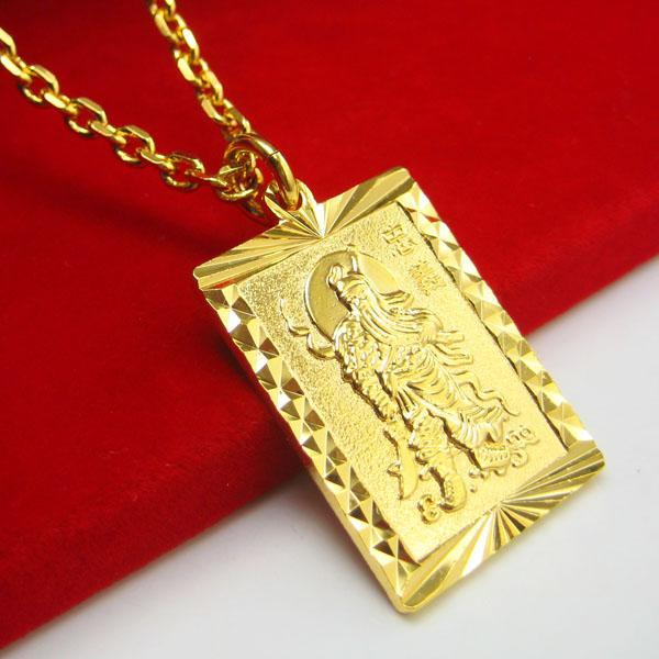 Wholesale imitation gold does not fade guan yu guan gong for Does gold plated jewelry fade