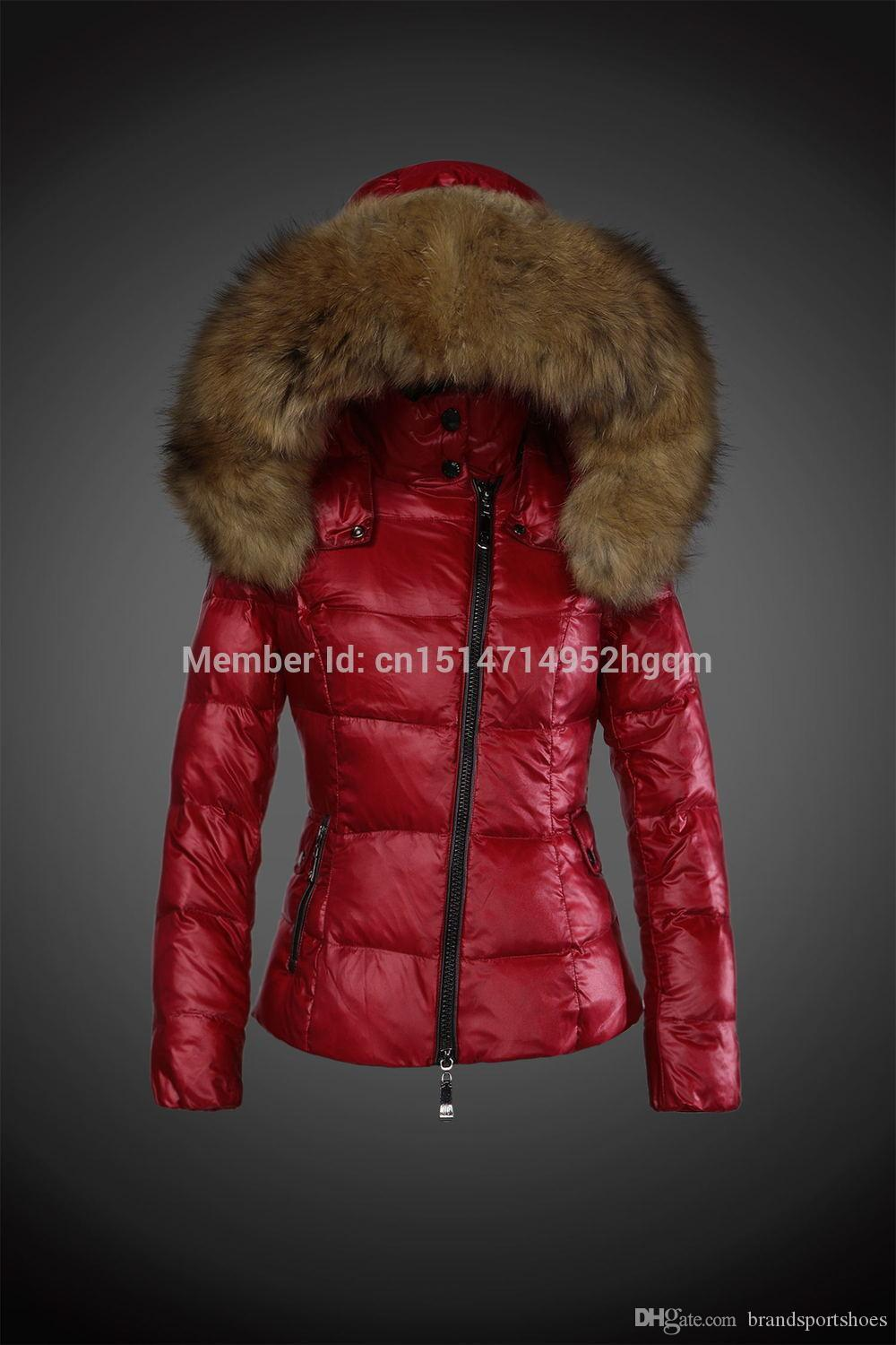 Wholesale Women's Down & Parkas At $285.43, Get Red Purple Green ...