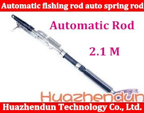 Peng automatic fishing rod auto spring small lazyboneses for Automatic fishing rod