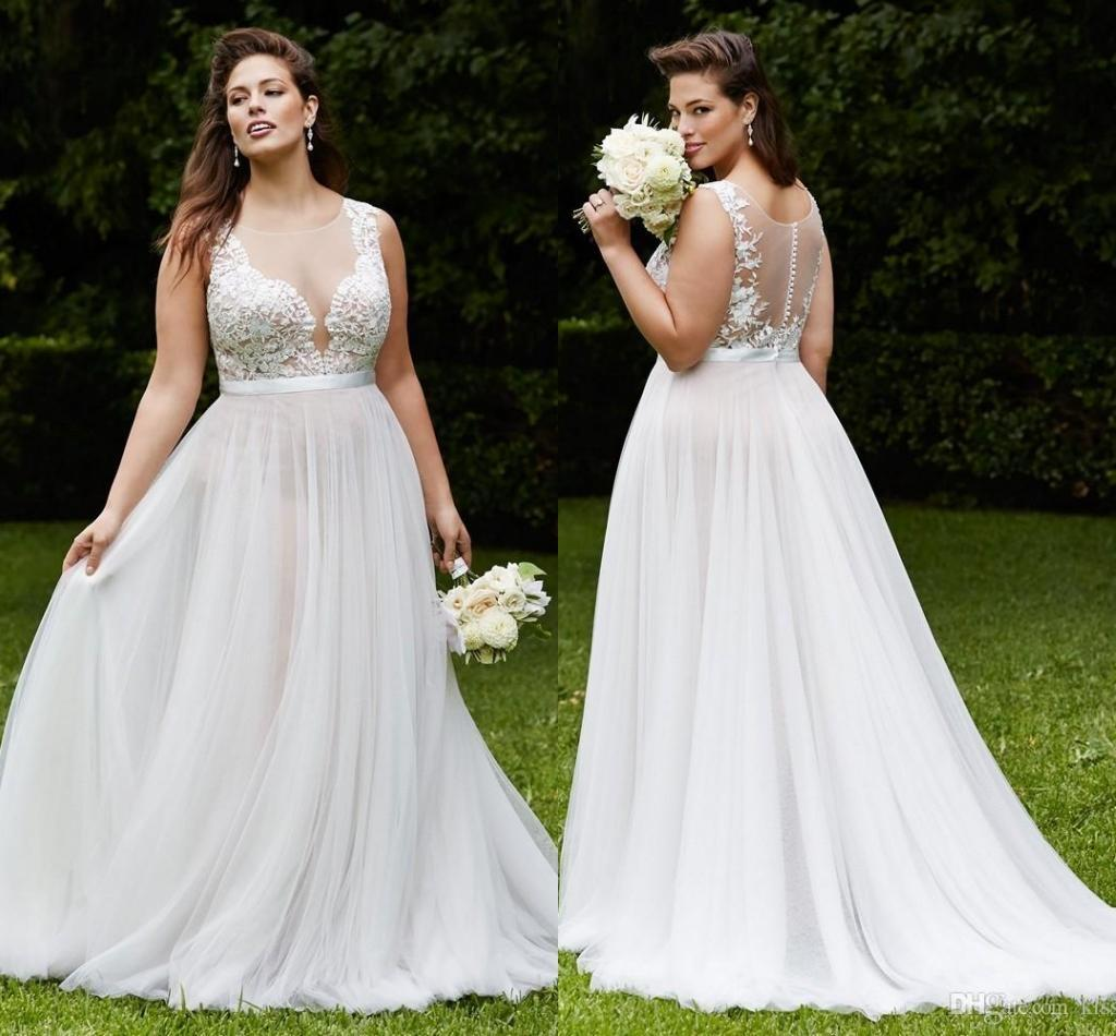Plus Size Wedding Dresses Made In Usa 15 Design