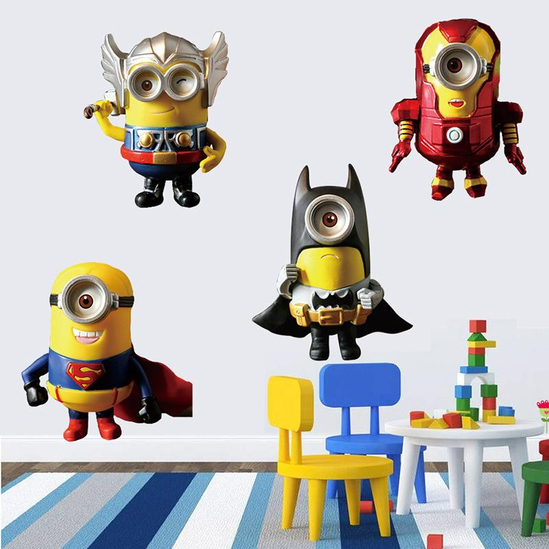 Al Despicable Me  Wall Stickers Vinyl Art Decals Room Kid - Minion wall decals