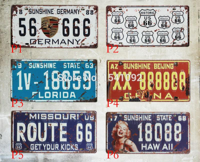 Tin Plate Signs Movie Poster Art Home Decor House Cafe Bar Vintage Metal Wall Art 30x15